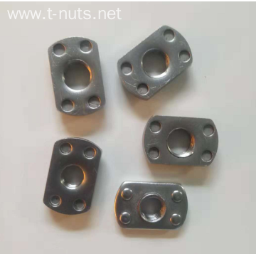 Carbon steel Plane Bumps Welding nuts